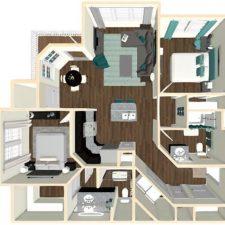 Exterior Unit Floor Plan (Click To Enlarge)